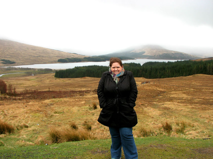 In the Scottish Highlands