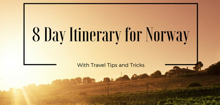 8 Day Itinerary Norway by The Talking Trails