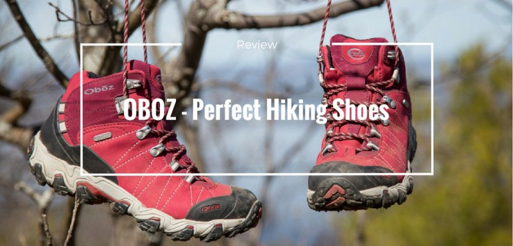 Oboz Hiking shoes from TheTalkingTrails